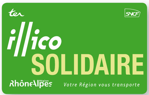 Carte TER illico solidaire